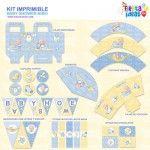 Kit imprimible Frozen espectacular para decorar fiestas