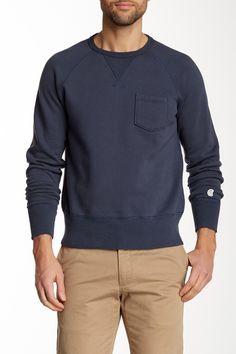 Todd Snyder Champion City Gym Sweatshirt: Navy