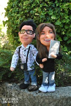 Hipster, Style, Fashion, Personalized Wedding, Original Gifts, Cloth Art Dolls, Facts, Swag, Moda