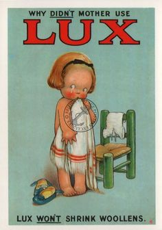 Lux - Vintage Poster Soap Advert