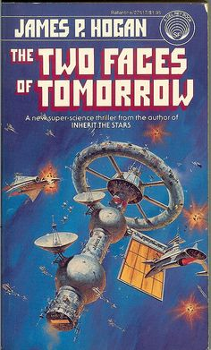 The Two Faces of Tomorrow, cover by Darrell K. Sweet