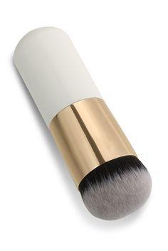 New 1PC Short Professional Foundation Makeup Face Blush Cream Powder Flat Top Portable Brush