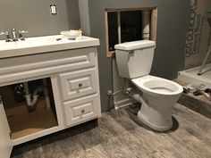 saniflo shower toilet and sink system