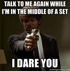 How I felt when the chick tried to talk on her cell in the middle of my class!
