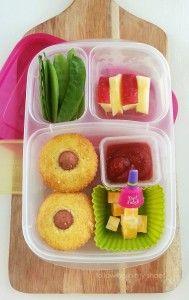 corn dog muffins school lunch organizedCHAOSonline
