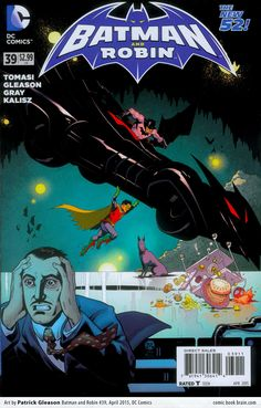 Batman and Robin #39 by Patrick Gleason, in homage to Action Comics #1