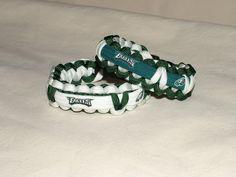 Philadelphia Eagles NFL Survival 550 Paracord Bracelet