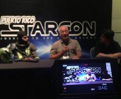 Panel Q/A en #prstarcon #starwars #cosplay #gaming #gamers #puertorico