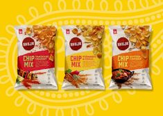 Chips Bhuja Chip Mix on Packaging of the World - Creative Package Design Gallery How To Care Garden