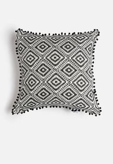 One way to give your place an upgrade without breaking the bank is with a few cushion covers. Consider this design then, which is made from cotton twill and features a geometric, Aztec-inspired pattern.