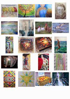 Schilderijen cursisten schildercursus Corinne Veen Seizoen 2014-2015 (sept-apr)