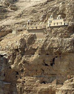 Monastery of Temptation . Jerusalem