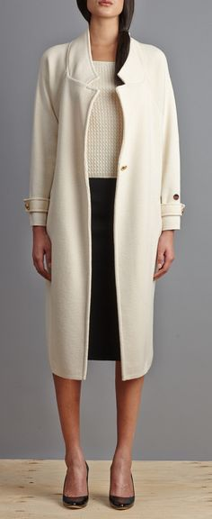 The perfect knitted Trench-coat !