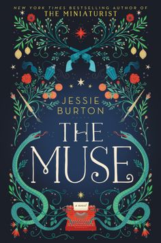 Jesse Burton's The Muse. Can't wait to start this one!