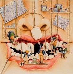 Dentaltown - Smile, it lets your teeth breathe.