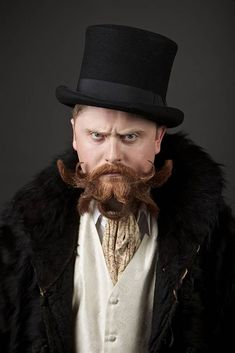 10 of the fanciest entries from the world beard and mustache chamionships.  this one- ewwww.