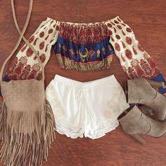 Boho outfit!