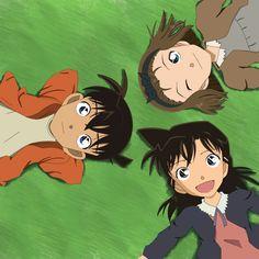 Shinichi, Ran y Sonoko. by chenchiz