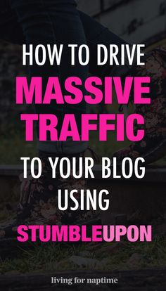 Would you like  more traffic to your website? Then you need to check out StumbleUpon. It can be a fantastic way to get targeted readers to your blog! This blog shows you exactly what you need to do on StumbleUpon to drive massive traffic to your site.