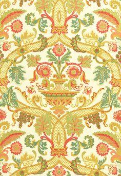 Fontenay Vase Fabric - Schumacher
