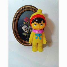 Yellow Squeeky Doll ♥♡♥ For more info photos or prices send me a insta direct @vintagelandstore