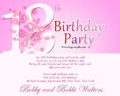 2073 best birthday invitation images on pinterest in 2018