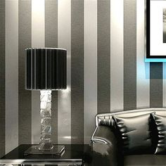 Modern Feature Brief Vertical Stripes Wallpaper Striped Wall Coverings Papel De Parede Home Decoration Non Woven Design $44.10 - Https://Goo.Gl/Eu7Ojr  Develop Works Knobs Chicago Best Gallery Concepts Supplies Exchange Match Units Week Maintiance Light M