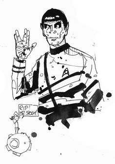 †rip mr. spock†