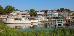 South Beach at the Sea Pines Plantation feels like a New England-style fishing village, with all the comforts that come with Hilton Head Island