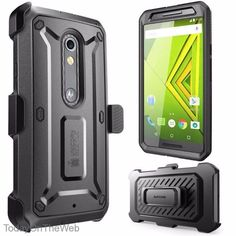 Droid Maxx 2 SUPCASE Unicorn Beetle PRO Rugged Protective Belt Clip Holster Case #SUPCASE