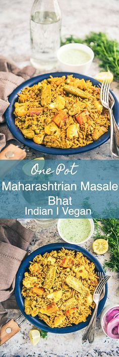 Maharashtrian Masale Bhaat, Masale Bhat Recipe is a one pot recipe made using long grain rice (Basmati), fresh veggies and Indian spices. Indian I Rice I Spicy I Maharashtrian I Easy I Simple I One Pot I No Clean I Quick I Traditional I Authentic I