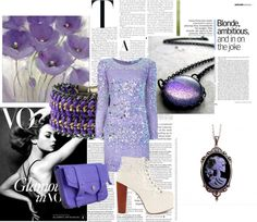 """""""~Purple~"""" by picklepiesrock ❤ liked on Polyvore"""