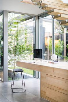 Portfolio - C Kairouz Architects Garden Nook, Study Nook, Empty Spaces, Home Office Decor, Home Decor, Under Stairs, Residential Architecture, Townhouse, Beach House