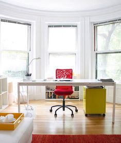 The Ikea Melltorp was originally designed to be a dining table, but we've noticed more and more people using it as their home office workspace.