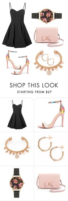 """№32"" by irina-barylchuk ❤ liked on Polyvore featuring Glamorous, Jacobies, Henri Bendel, Dinny Hall, Olivia Burton and Ted Baker"