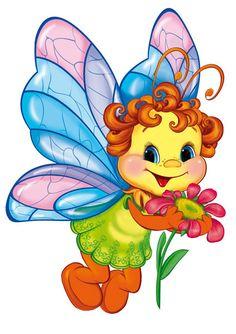 Посмотреть иллюстрацию Татьяна - бабочка. персонаж,открытка
