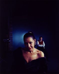 """hennyproud: """"An outtake of Billie Holiday and orchestra leader Ray Ellis photographed by Arnold Newman from a photo shoot for Holiday's album Lady in Satin, c. 1958"""""""