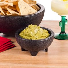 "Thermal Plastic 10 oz. Molcajete Bowl - 5 1/4"" x 2 1/2"" 4 / Pack  It would be cool to give people some salsa-to-go as favors... these are plastic molcajete bowls, 4 come in a pack.  we could put salsa in the bowls and cover them with plastic wrap, of course"