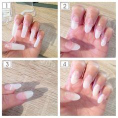 Künstliche Fingernägel OHNE Gel - Tutorial