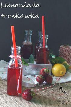 Kulinarne przygody Gatity: Lemoniada truskawkowa