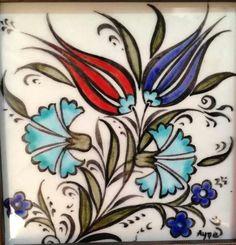 Ayşe Özkan Tole Painting, Ceramic Painting, Fabric Painting, Turkish Tiles, Turkish Art, Islamic Tiles, Islamic Art, Devin Art, Foto Transfer