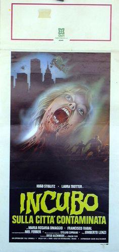 Original Film Title: INCUBO SULLA CITTÀ CONTAMINATA Poster Title: INCUBO SULLA CITTA´ CONTAMINATA Director: UMBERTO LENZI Year: 1980 Film Nationality: ESPAÑA
