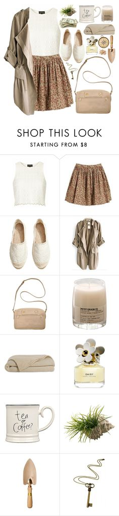 """2241. Your Mind Is A Powerful Think. When You Fill It With Positive Thoughts, Your Life Will Start To Change."" by chocolatepumma ❤ liked on Polyvore featuring Topshop, CO, H&M, Marc by Marc Jacobs, Le Labo, Marc Jacobs, Expressions, Rock 'N Rose, Napoleon Perdis and BackToSchool"