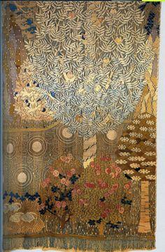 1899 Frida Hansen (Norwegian Art Nouveau tapestry artist; 1855-1931) ~ Summer Nights Dream
