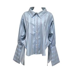 Worlds End by Vivienne Westwood and Malcolm McLaren oversized shirt, c. 1981 For Sale Short Shirts, Short Tops, Long Tops, Smee Costume, Oversized Striped Shirt, Oversized Tops, Pirate Shirts, Classy Work Outfits, Vivienne Westwood Anglomania