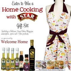Including a Welcome Home Online Magazine subscription, apron and 7 STAR products.