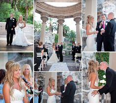 Las Vegas Wedding Photos, Mandalay Bay, valley of Falls, ceremony at the Mandalay Bay
