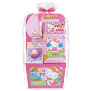 Shopkins themed kids easter gift basket bundle set with candy hello kitty easter basket negle Images
