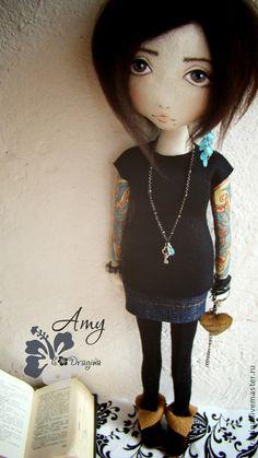 Muñecas de colección hechos a mano.  Masters - Feria artesanal Amy.  Hecho a mano.