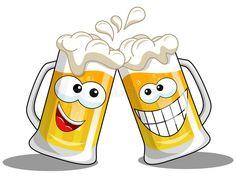 Animated Smiley Faces, Funny Emoji Faces, Funny Emoticons, Smileys, Cheers Emoji, Beer Cartoon, Images Emoji, Beer Images, Beautiful Love Images